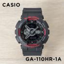 Gショック カシオ CASIO 腕時計 時計 G-SHOCK ブラック&レッド シリーズ アナデジ GA-110HR-1A