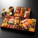 おせち料理2022  鳳凰(ほうおう) 3〜5人前 三段重 46品入 盛付済 おせち 和風 20...