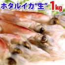 ホタルイカ(生冷凍)約1kg(約250g×4パッ...