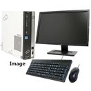 ポイント5倍 Windows 10 Home 新品HD1TB 20型ワイド液晶付 Officeソフト付属 富士通 FMV-D5270 Core2Duo E7300 2.66G メモリ4G HD1TB DVDドライブ 無線付き