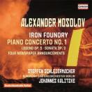ヨハネス・カリツケ A.Mosolov: Iron Foundry, Piano Concerto No.1, etc CD