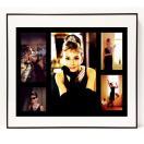 パロディ ポップ アート キャンバス アート パネル フレーム ポスター インテリア 壁 Audrey Hepburn オードリーヘップバーン Canvas Pop Art CANVAS-ah-0002