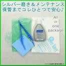 メンテナンスセット 銀専用 シルバーポリッシュ50g ジュエリー アクセサリー 洗浄