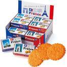 【ポイント10倍】フランス お土産 フランス メモリアル ミニガレットクッキー 18箱セット ID:E7050146