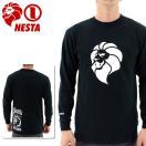 「セール」NESTA 長袖Tシャツ ネスタ メンズロンT プリントTシャツ シンプル 定番 LS1502F