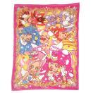 キラキラ☆プリキュア アラモード  ハーフケット毛布 (フランネル) プリキュア 毛布