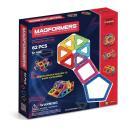 マグフォーマー 62ピース MAGFORMERS マグネットブロッ ク キッズ 磁石 パズル ブロック プレゼント ギフト 誕生日 3歳 知育玩具