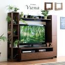 テレビ台 テレビボード ハイタイプ 収納 160幅 TVボード CHIUDE(キューデ) 5色対応