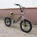 自転車/BMX フリーキーバイク Freaky Bike(マットオリーブ) 迷彩/カモフラージュ仕様 送料無料 *メール便不可 *代引き不可