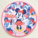 ワッペン ディズニー ミニーマウス(ラウンド) MY5501-MY325