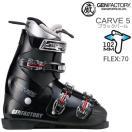 ゲン スキーブーツ 2018 CARVE 5 ブラックパール 超軽量ソフトフレックスモデル 17-18 GEN カーブファイブ スキーブーツ フリースタイルスキー ブーツ