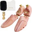 シューキーパー 木製 メンズ レッドシダー 送料無料 シューツリー 革靴クリーナー付き R&K's Company