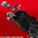 ワールドイーグル F-01α メンズ14点ゴルフクラブセットフレックスR /S  送料無料