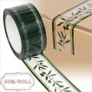 パッキングテープ 柄入りOPPテープ オリーブガーデン 50mmx50m