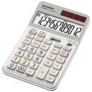 シャープ 実務電卓(ナイスサイズタイプ・12桁) EL‐N942C‐X