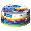 三菱化学 2~8倍速対応 データ用DVD-R DLメディア(8.5GB・25枚) DHR85HP25V1