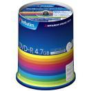 三菱化学 データ用DVD-R(1-16倍速対応/4.7GB)100枚スピンドルケース DHR47JP100V3