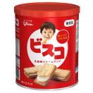 非常食 江崎グリコ ビスコ保存缶  1缶 (5枚...