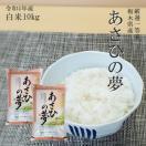 お米 10kg (5kg×2) 栃木県 白米 一等米 あさひの夢 平成29年産 送料無料