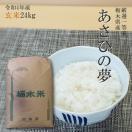 お米 24kg 栃木県 玄米 一等米 あさひの夢 平成29年産 送料無料