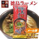 【お試しセール】八百秀徳島ラーメン【棒麺2食入】袋(ネギ入り)【ゆうメール500】