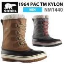 ソレル メンズ ウィンター ブーツ 1964 パックナイロン SOREL PAC TM KYLON NM1440 レインシューズ レインブーツ sor19