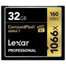 《新品アクセサリー》 LEXAR(レキサー) Professional 1066x CFカード 32GB LCF32GCRBJPR1066〔納期未定・予約商品〕