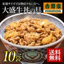冷凍 食品 レトルト 牛丼の具 お取り寄せ グルメ 吉野家 大盛 10袋セット