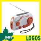 ロゴス LOGOS ソーラーラジオライト スマホ対応 LLL 3電源 充電式ラジオ LEDライト 非常用 手回し充電 ソーラー充電 USB充電 携帯電話充電器 防災グッズ