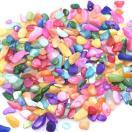 染色シェル貝 さざれ石(穴なし) カラー 5-7mm(50g)
