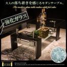 センターテーブル ローテーブル ガラス リビングテーブル ガラステーブル センター 100 ブラック 高級感