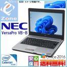 セール 人気モバイル Windows 10 Home 正規ライセンス 無線LAN 安心日本製 NEC VersaPro VB-B Celeron-1.06GHz 4GB 160GB Office2016