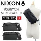 NIXON/ニクソン C1957000 FOUNTAIN2/ファウンテイン2 ウエストバッグ/ボディバッグ/ヒップバッグ/スリングパック/カバン/鞄