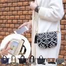 ネコポスで送料無料 スマホポーチ &SMART アンドスマート ショルダー ポーチ トート ポシェット 入れたまま操作 iphone