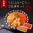 【お歳暮ギフト】海鮮丼 2色 いくら ウニ 無添加ウニ 送料無料