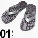 ディーゼル DIESEL ロゴ 総柄 フラップ トング サンダル DSI00273P0978 メンズ ブランド