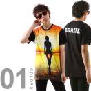 Eleven Paris イレブンパリ ST10 半袖 Tシャツ メンズ Tシャツ ブランド プリント ストリート 14F1T054