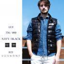 モンクレール MONCLER ロゴワッペン付き スタンドカラー ダウンベスト メンズ ブランド ユニセックス MCGUI6