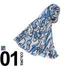 ディースクエアード DSQUARED2 デザインプリント ストール D2ST4001V08C スカーフ マフラー メンズ ブランド カジュアル