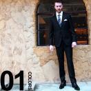 ボス HUGO BOSS ヒューゴ ボス シングル 2ツ釦 羊毛100% ノータック 無地 スーツ 男性 紳士 HBJW10170948 メンズ ビジネス ブランド