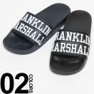 フランクリン マーシャル Franklin&Marshall ロゴ バイカラー シャワーサンダル FMFTUA9088