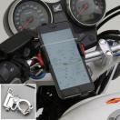 【あすつく対象】バイク用スマートフォンホルダーWIDE(iPhone5・6・6Plus対応)クイックタイプ iH-250D DAYTONA(デイトナ)