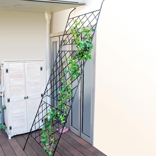 アイアン製グリーンカーテン 立掛け 埋込タイプ