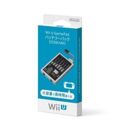 任天堂 Wii U GamePad バッテリーパック(2550mAh)の商品画像|ナビ