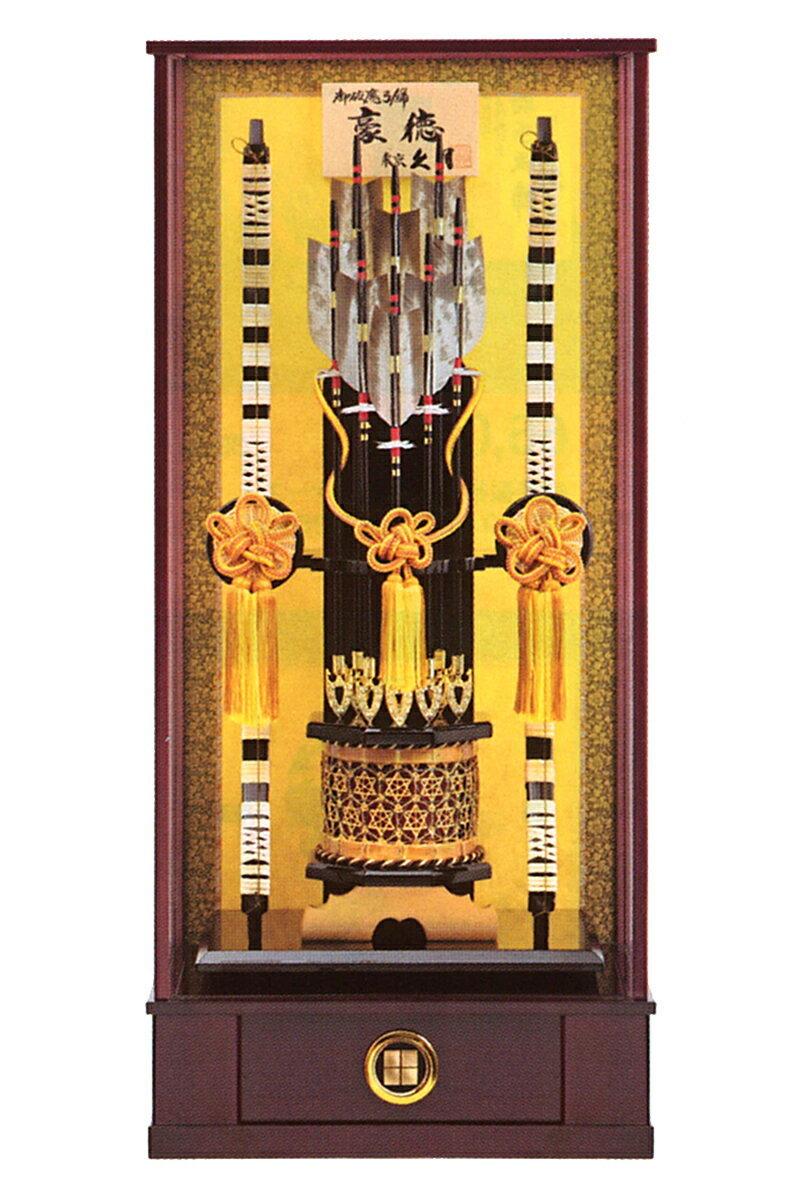 豪徳 籐箙 本籐 30号 木製面取ケース カブセケース