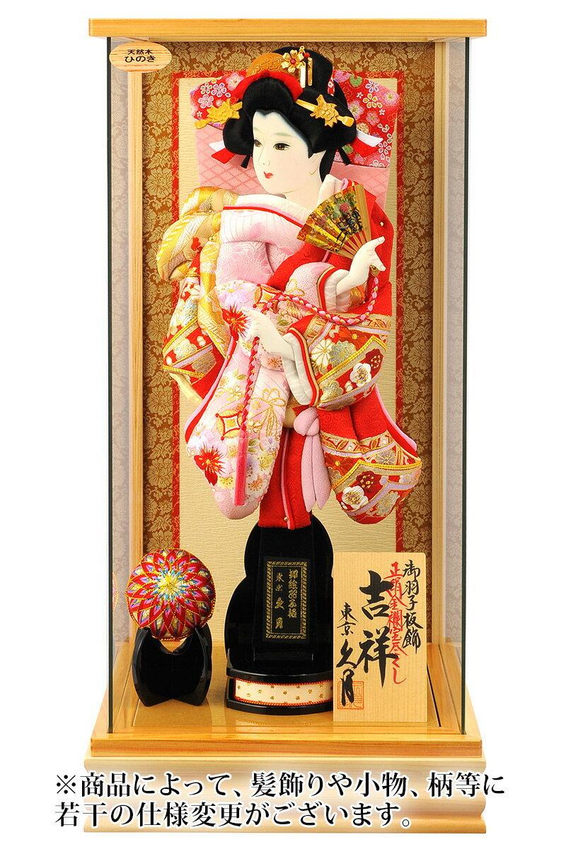 吉祥 正絹金襴宝づくし 刺繍千景 13号 総檜パノラマ