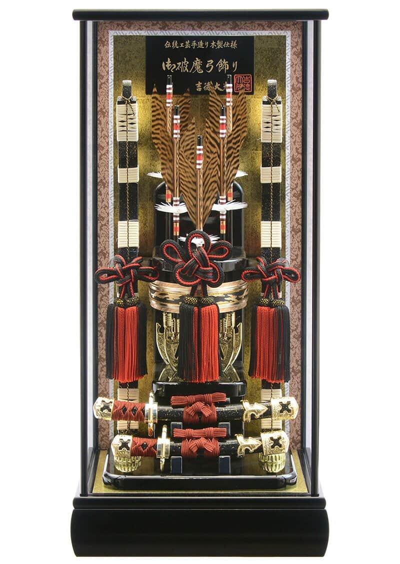 伝統工芸 手造り 木製仕様 13号 黒塗ケース