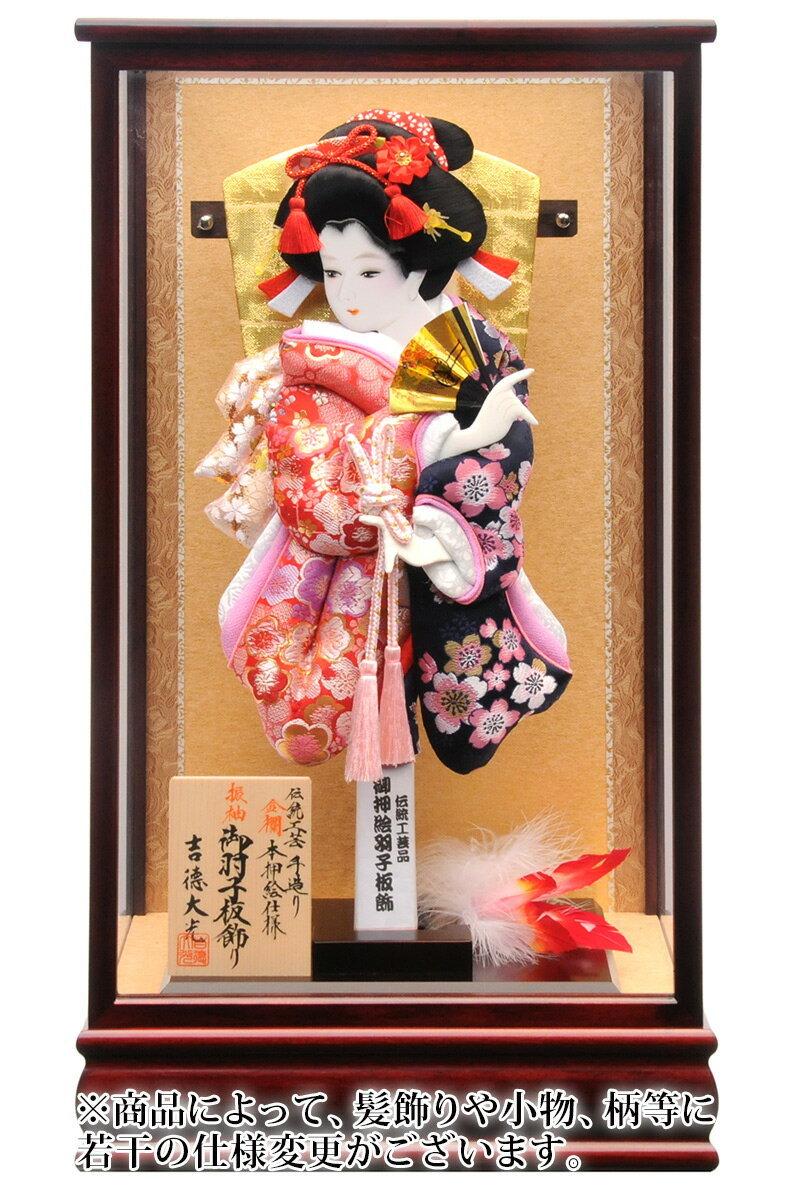 金襴 伝統工芸 手造り 本押絵仕様 13号 マホガニ塗