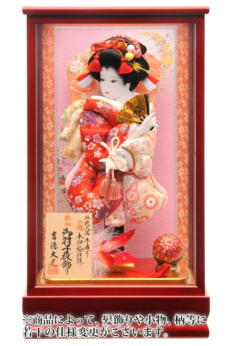 金襴 伝統工芸 手造り 本押絵仕様 10号 赤メタリック