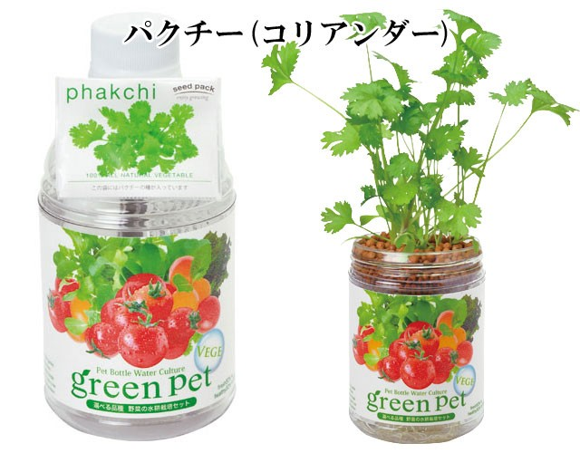 『栽培セット』 育てるグリーンペットベジ3